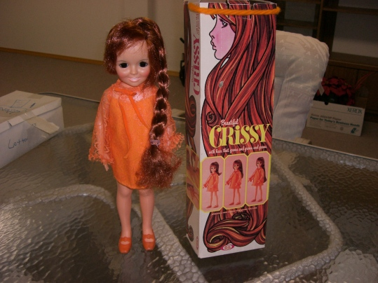"""My """"Crissy"""" doll with the hair that went long or short!"""