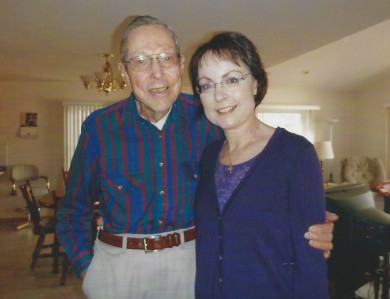 Jane and Dad - 2010